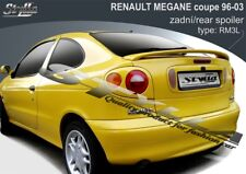 SPOILER REAR BOOT TRUNK TAILGATE RENAULT MEGANE COUPE COACH WING ACCESSORIES