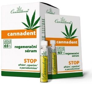 CANNADERM CANNADENT 5ml. - ORAL CARE, TRAVEL PACK, AGAINST HERPES