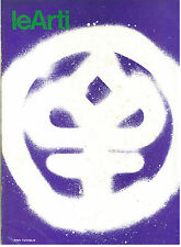 LE ARTI N. 1 GENNAIO 1976 MENSILE ARTE FUTURISMO KEATON MOMPO CERI RICHARDS