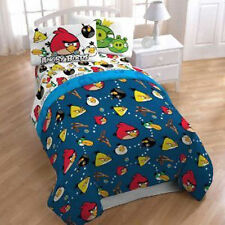"Comforter + Carring Bag Twin 64""x86"" Super Soft Microfiber Rovio Angry Bird New"