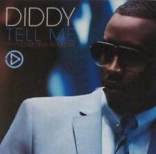 Diddy: Tell Me PROMO Music CD Christina Aguilera Radio Edit, Mixshow 3trk w/ Art