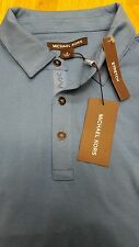 Michael Kors Sea Blue Stretch Men's Shirt Sizes  S   MSRP 79.50 REDUCED
