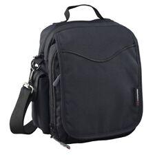 [ CARIBEE ] Global Organiser L Zippered Travel Pouch Black Comfort Bag