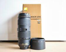 Nikon Nikkor AF-S 70-200mm f/4 ED VR lens