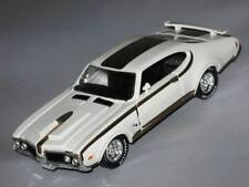 1/43 Oldsmobile Hurst 1969 White USA Muscle Car model Die cast Road Champs