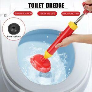 Abflussreiniger Abflusspumpe Pömpel Pümpel WC Toilette Pressluft Rohrreiniger