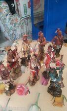 SOLDATINI COLLEZIONE PELLEROSSA INDIANI 8 PEZZI  - FESTIVANYA -