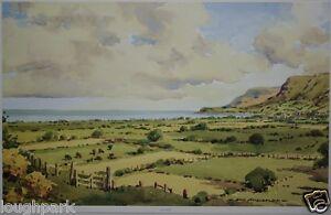 GLENARIFF ANTRIM COAST, N. IRELAND by Irish Artist SAM MCLARNON Unframed Print