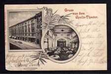 102841 AK München 1899 Gruss aus dem Apollo Theater ; mit Privatpost Courier bef