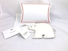 Coach Polar Bear Coin Purse NWT F66421 Gift Box Dust Bag Care Card Retired Rare