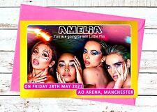 Little Mix Concert Announcement Invitation Card A6 (postcard style) + Envelope
