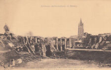 SAINTES ancienne arènes gallo-romaines et clocher de l'église éd guiller