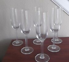 CHAMPAGNE FLUTES*Modern Classical*Perfect Set of 6* FREE SHIPPING
