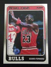 1988 FLEER BASKETBALL CHICAGO BULLS MICHAEL JORDAN MINT