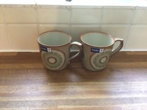 Denby - Heritage Harvest Accent- Large Mugs X2 - BRAND NEW.First Quality.