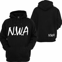 NWA Hoodie Straight Outta Compton 2 pac Eazy E RAP Hip Hop Music Sweatshirt