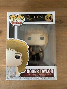 Roger Taylor Queen #94 Funko pop! vinyl ROCKS