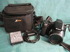 Nikon COOLPIX P100 10.3MP Digital Camera - Black w Battery/Case & Charger #23