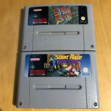 Sim City & Stunt Race FX for Super Nintendo / SNES - PAL UK