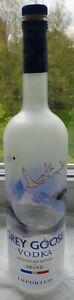 1-Liter Original-Flasche (leer) GREY GOOSE VODKA!