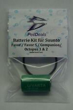 Batterie-Kit für SUUNTO  Favor, Favor S, Companion, Octopus 1 & 2