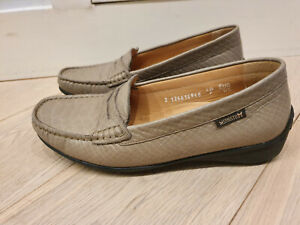 Chaussures mocassins cuir beige Mephisto cool air 37 ½ 37,5 ou 4 ½ comme neufs