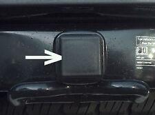"2"" Black Trailer Hitch Receiver Cover Plug Cap     SUV Truck Van RV 2 inch"