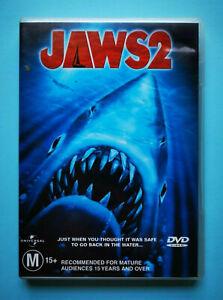 Jaws 2 🎬 DVD Region 4 PAL 🎬