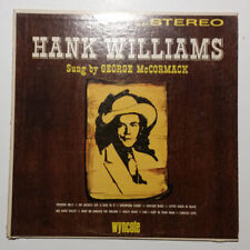 Hank Williams Sung By George McCormack (Vinly LP)