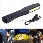 2in1 Rechargeable LED COB Camping Work Inspection Light Lamp Hand Torch Magnetic