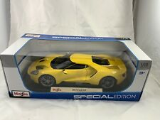 Maisto 1/18 Special Edition 2017 Ford GT Yellow  *New*