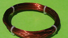0.50mm 20m 24 Gauge AWG Enameled Copper Magnet Wire conductor winding 60ft 24G 1