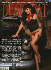 DEADBEAT MAGAZINE #20 HOT ROD RAT PINUP DIRTY DONNY ART CUSTOM KULTURE TATTOO
