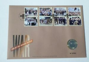 2020 £2 PHILATELIC COIN COVER -  75TH ANNIVERSARY OF WW2 VE DAY