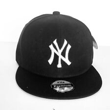 NEW Mens New York Yankees Baseball Cap Fitted Hat Multi Size Black