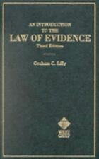 An Introduction to the Law of Evidence (Hornbooks)-ExLibrary