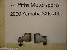 00 YAMAHA SXR 700 SX R VMAX? 01? 99? bogie wheel mounts mount set bracket 2 idle