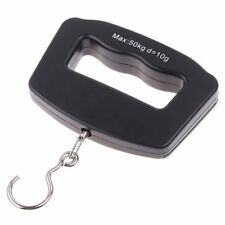50kg x 10g Mini Portable Hand Scale Electronic Hanging Weight Hook Scale Digital