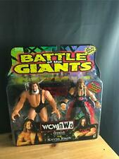 1999 NEW NIB WCW NWO BATTLE OF THE GIANTS FIGURE SET KEVIN NASH & GIANT+STAND