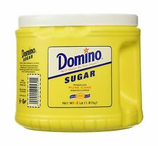Domino Sugar Granulated 4LB Canister 1 Pack Free Shipping