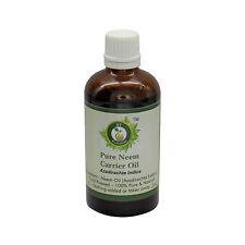 R V Essential Pure Neem Oil Cold Pressed 100% Natural Azadirachta Indica