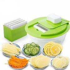 1 Set Slicer Vegetable Fruit Peeler Dicer Cutter Chopper Nicer Grater B