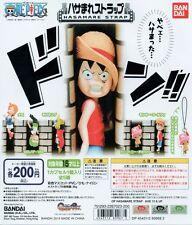 One Piece Hasamare Strap Gashapon Luffy Zoro Chopper Nami Usopp Set of 5pcs