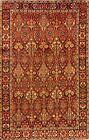 Vintage Geometric Bakhtiari Handmade Area Rug Traditional Oriental Carpet 6x10