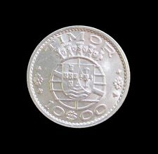 PORTUGUESE TIMOR 10 ESCUDOS 1964 SILVER KM 16 #3191#