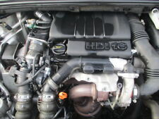 PEUGEOT 1.6 HDI 9HX ENGINE COMPLETE LOW MILES