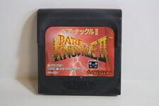 Bare Knuckle II 2 Sega Game Gear GG Japan Import US Seller SHIP FAST