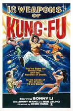 18 WEAPONS OF KUNG FU Movie POSTER 27x40 Fei-fei Cheng Tien-chi Cheng Ke Chu Tou
