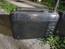 New ListingTwo matching Vintage Superadio General Electric Ge Am/Fm Long Range Super Radio