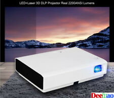 Smart Android Home Theater DLP Laser Movies Video Projector 3D HDMI 1080P LED